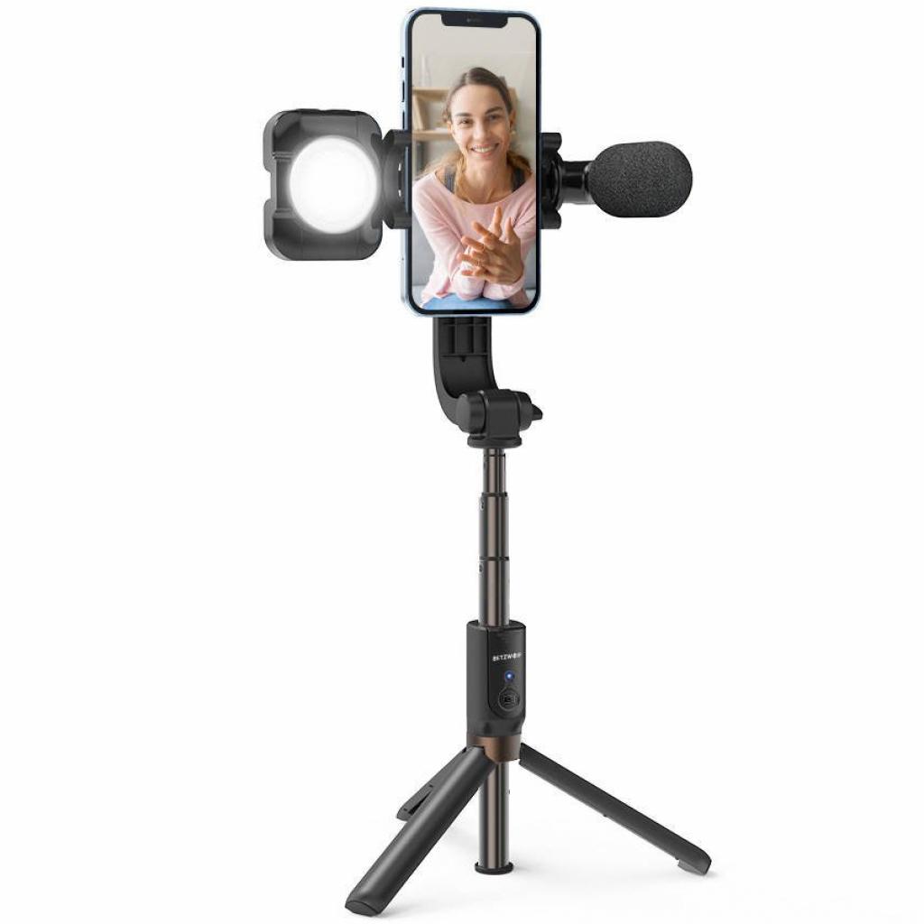 BlitzWolf BW-BS15 oferuje w zestawie lampę i mikrofon, których bateria pozwoli na 2-3 godziny nagrywania, czyli w sam raz do nagrania odcinka vloga.