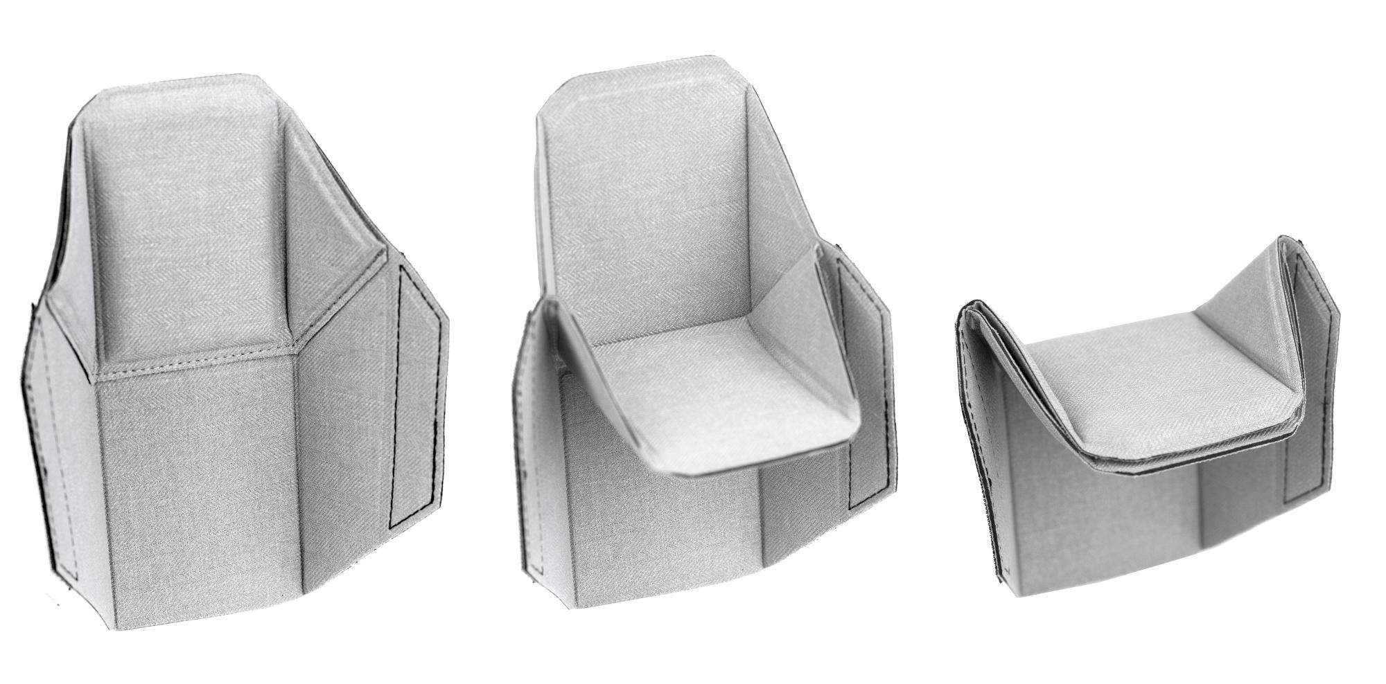 Przegródki w stylu origami Peak Design