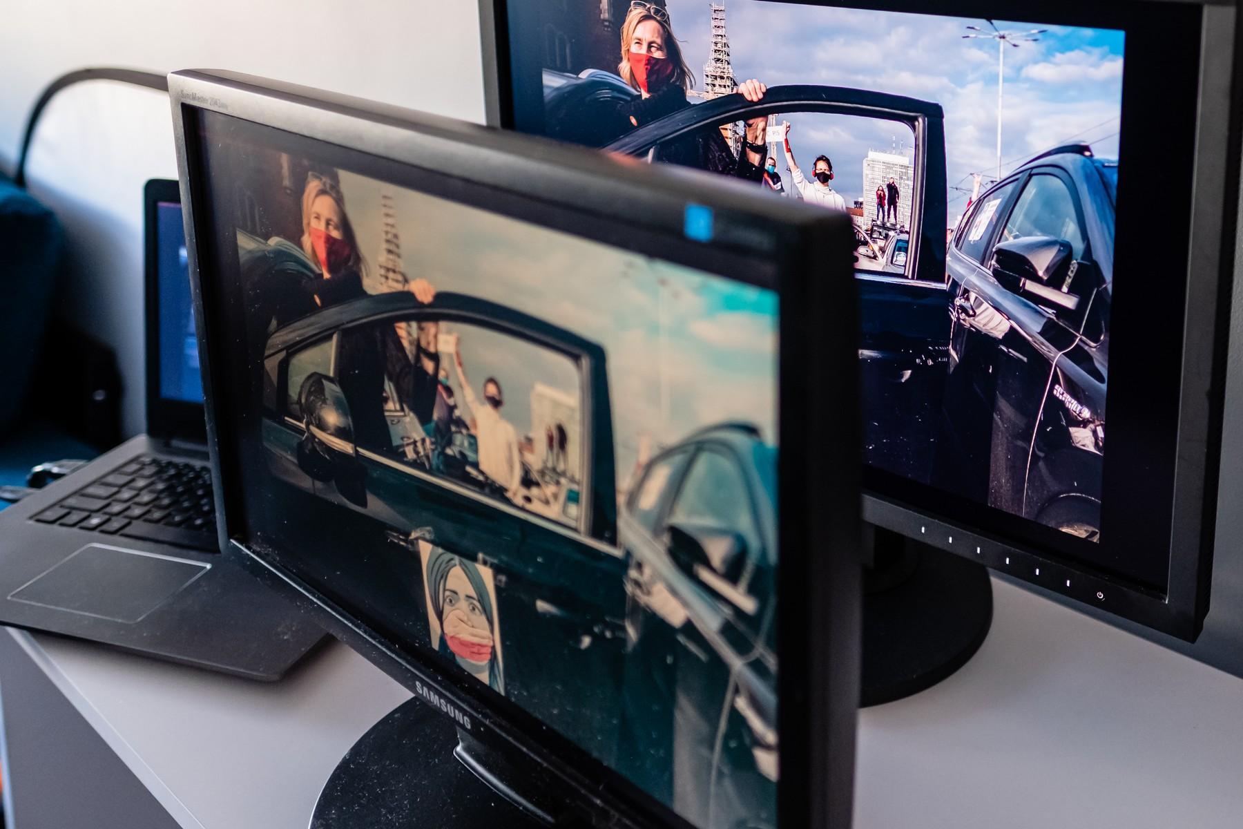 ... spojrzymy na te monitory pod kątem. Zakres możliwości. monitora biurowego brutalnie spada. Fot. Jarek Respondek
