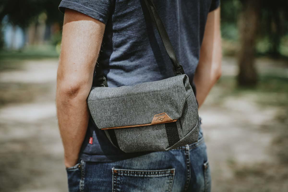 Wariant nr 1: torba fotograficzna na ramię