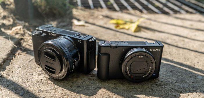 Sony ZV-1 i ZV-E10
